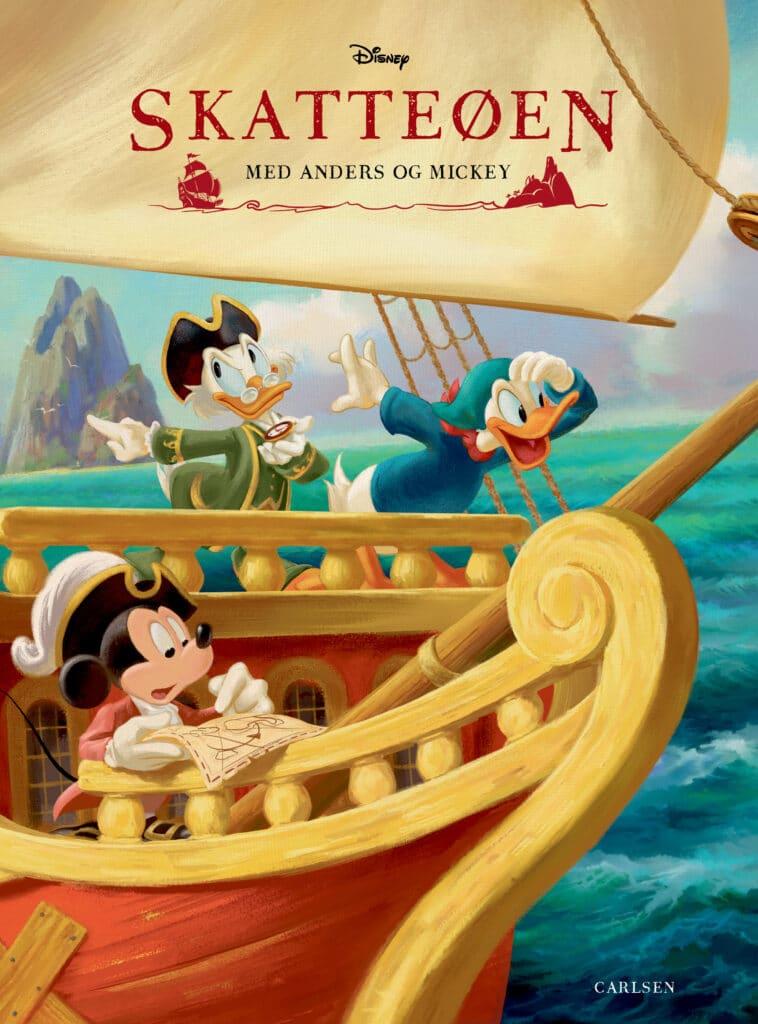 Skatteøen, Disney, Anders og Mickey