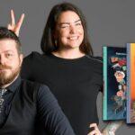 To på ti. Ny, gakket serie af forfatterne bag Sallys far og Alf og Bjørn redder verden
