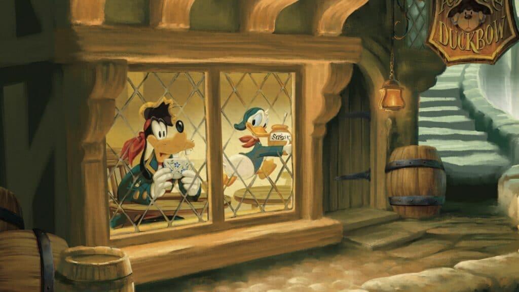 Skatteøen, Disney, litterære klassikere for børn