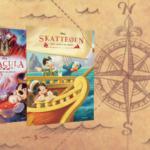 Tag på eventyr i skønne litterære klassikere for børn med Anders And og Mickey Mouse