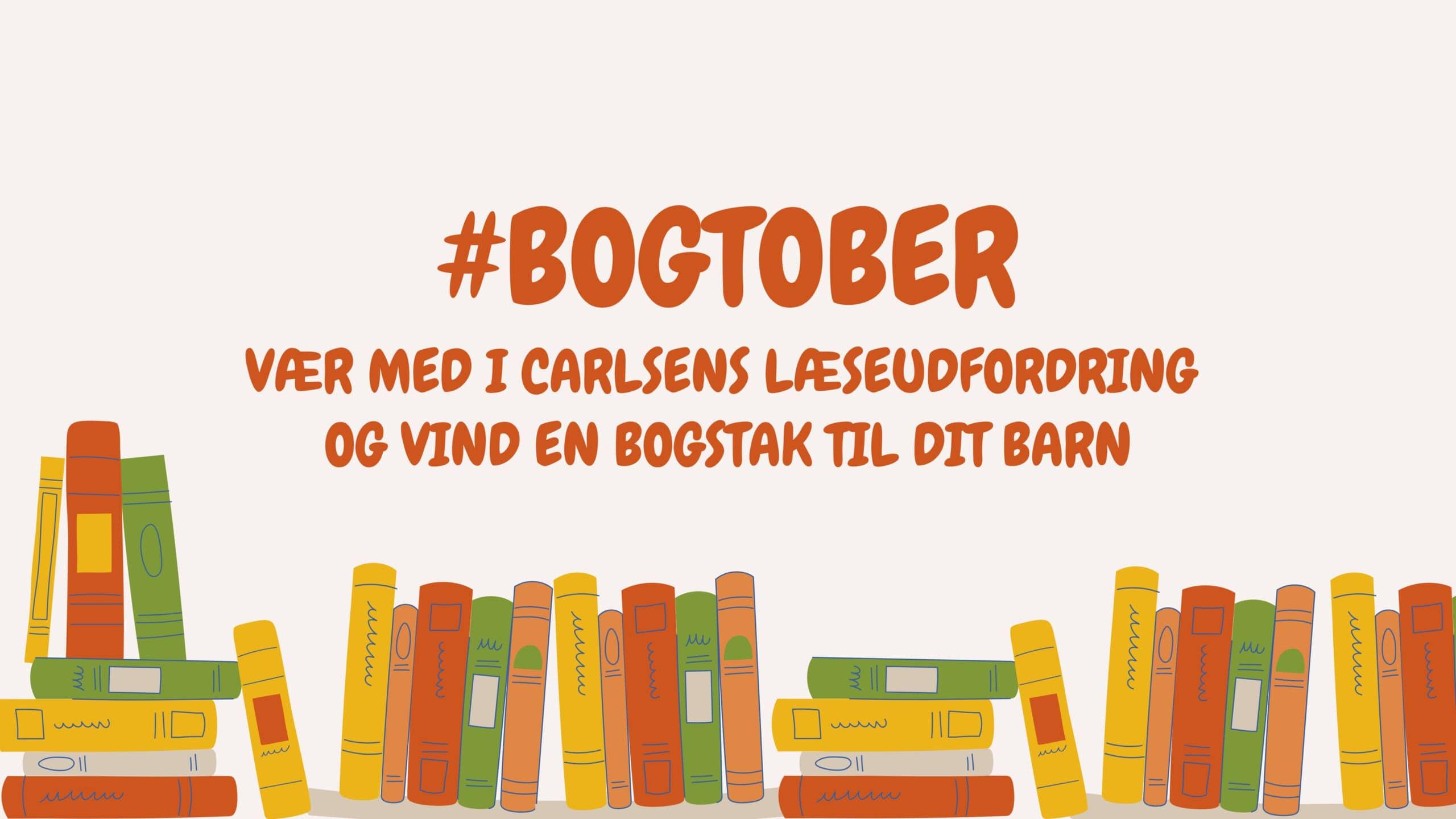 #bogtober, carlsen, gode børnebøger, borneboger