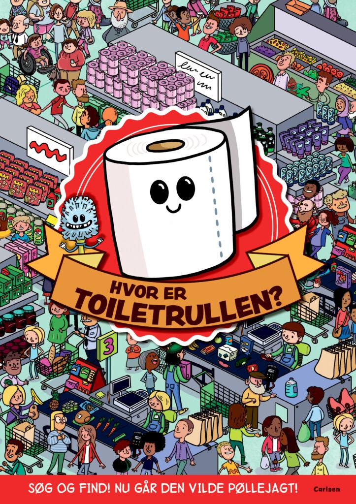 hvor er toiletrullen