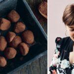 Inspirerende konfekt fra Louisa Lorang. Få opskriften på hendes overdådige kaffetrøfler her