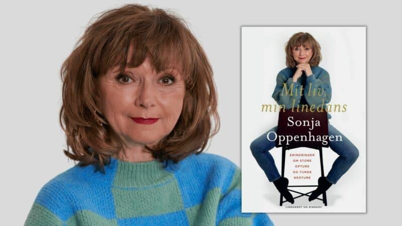 sonja oppenhagen, mit liv min linedans, gode biografier, danske biografier