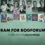 Carlsen på Bogforum 2021. Find børnenes bedste program her