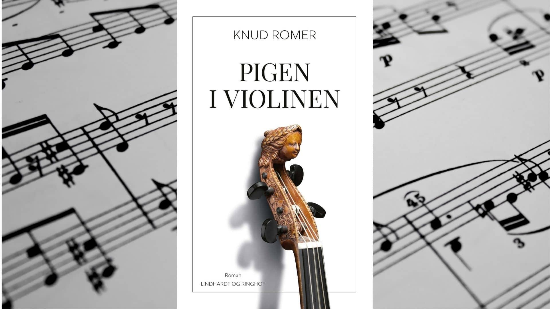 knud romer, pigen i violinen, gode boger, danske romaner