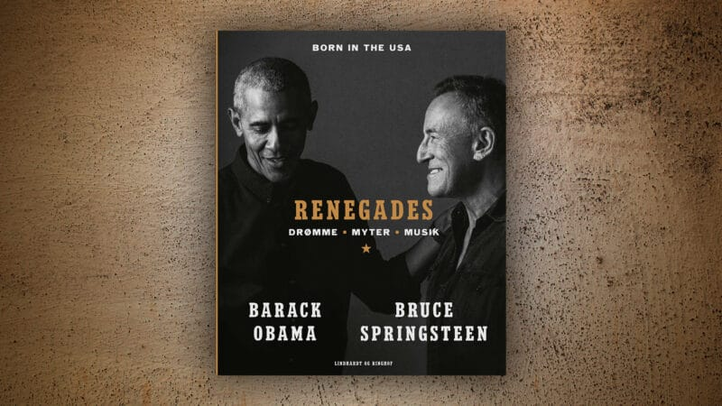 renegades, renegades bog, barack obama, bruce springsteen