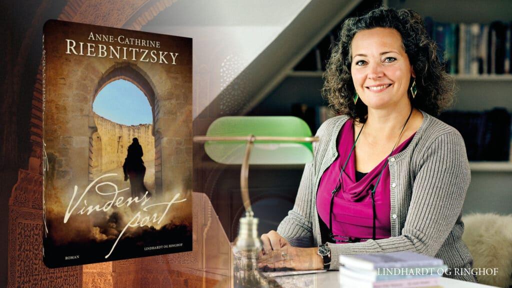 Vindens Port, Anne-Cathrine Riebnitzsky, historisk roman